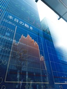 株価イメージの写真素材 [FYI01190901]