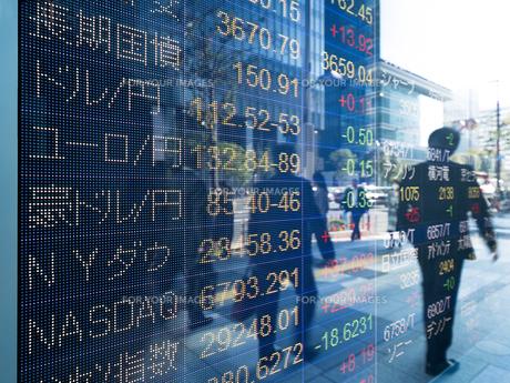 株価イメージの写真素材 [FYI01190951]