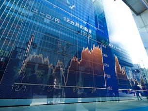 株価イメージの写真素材 [FYI01190953]