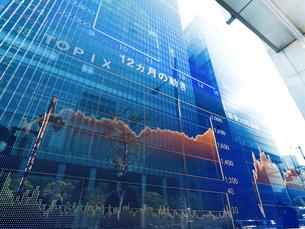 株価イメージの写真素材 [FYI01190955]