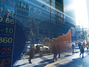 株価イメージの写真素材 [FYI01190959]