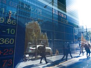 株価イメージの写真素材 [FYI01190960]