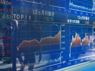 株価イメージの写真素材 [FYI01190962]