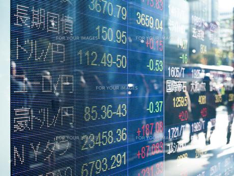 株価イメージの写真素材 [FYI01190965]