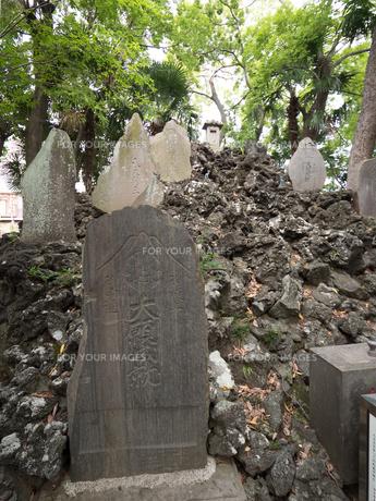 富士塚 保木間富士の写真素材 [FYI01190984]