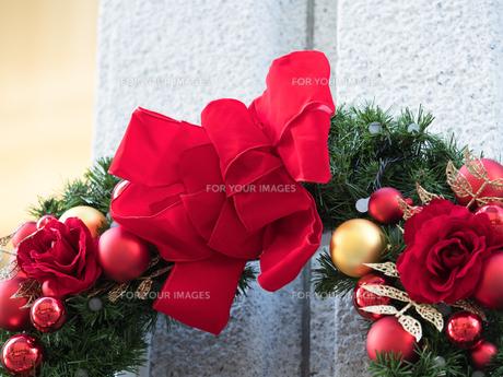 クリスマス飾りの写真素材 [FYI01191282]