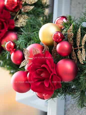 クリスマス飾りの写真素材 [FYI01191283]