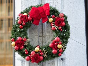 クリスマス飾りの写真素材 [FYI01191284]