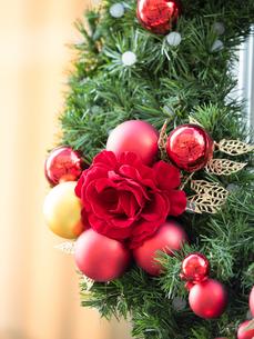 クリスマス飾りの写真素材 [FYI01191286]
