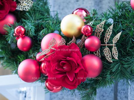 クリスマス飾りの写真素材 [FYI01191288]