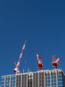 高層マンションの新築工事の写真素材 [FYI01191350]