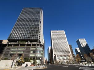 東京駅丸の内駅前広場の写真素材 [FYI01191372]