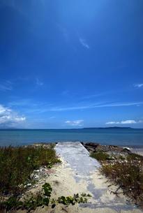 沖縄・うるま市照間ビーチの写真素材 [FYI01191407]