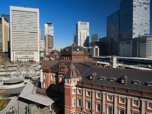 東京駅丸の内駅前広場の写真素材 [FYI01191643]