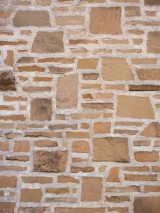 石を貼り込んだ壁の写真素材 [FYI01191696]