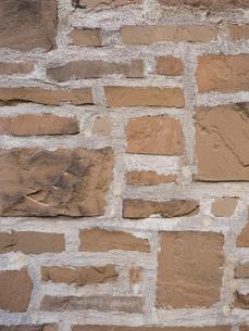 石を貼り込んだ壁の写真素材 [FYI01191698]