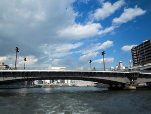 隅田川 両国橋の写真素材 [FYI01191713]