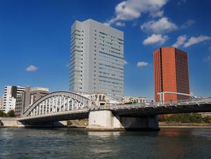 隅田川 勝どき橋の写真素材 [FYI01191718]