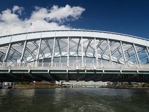 隅田川 永代橋の写真素材 [FYI01191726]