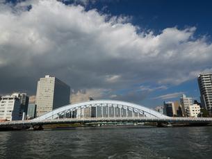 隅田川 永代橋の写真素材 [FYI01191727]