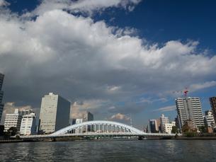 隅田川 永代橋の写真素材 [FYI01191728]