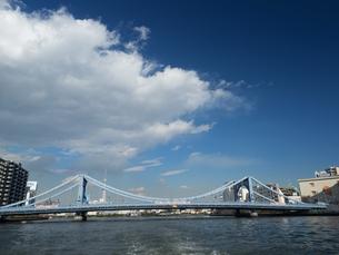 隅田川 清洲橋の写真素材 [FYI01191729]