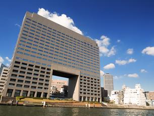 隅田川 築地大橋の写真素材 [FYI01191762]
