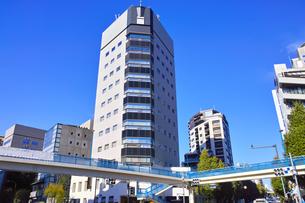 恵比寿の渋谷橋交差点の景観の写真素材 [FYI01191788]