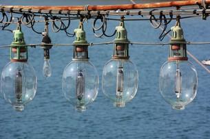 昼下がりの漁港 / 福岡県糸島市加布里漁港の写真素材 [FYI01192076]