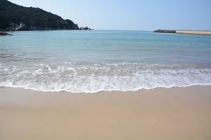 サーフィンスポット / 福岡県糸島市志摩芥屋海岸の写真素材 [FYI01192078]