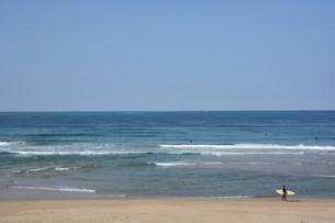 サーフィンスポット / 福岡県糸島市志摩芥屋海岸の写真素材 [FYI01192086]
