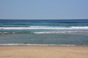 サーフィンスポット / 福岡県糸島市志摩芥屋海岸の写真素材 [FYI01192089]
