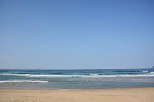 サーフィンスポット / 福岡県糸島市志摩芥屋海岸の写真素材 [FYI01192090]