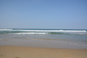 サーフィンスポット / 福岡県糸島市志摩芥屋海岸の写真素材 [FYI01192097]