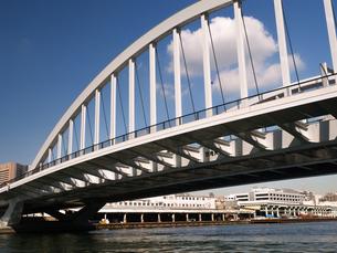 隅田川 築地大橋の写真素材 [FYI01192106]