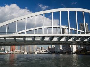 隅田川 築地大橋の写真素材 [FYI01192107]