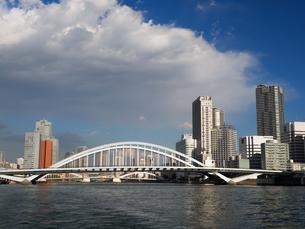 隅田川 築地大橋の写真素材 [FYI01192108]