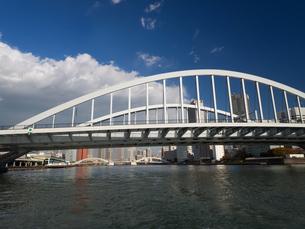 隅田川 築地大橋の写真素材 [FYI01192109]
