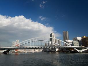 隅田川 築地大橋の写真素材 [FYI01192110]