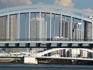 隅田川 築地大橋の写真素材 [FYI01192111]