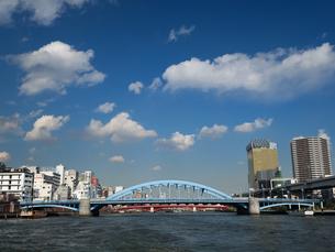 隅田川 駒形橋の写真素材 [FYI01192126]