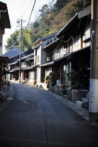 旧東海道 間の宿倉沢の町並みの写真素材 [FYI01192267]