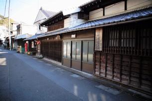 旧東海道 間の宿倉沢の町並みの写真素材 [FYI01192268]