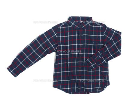 子供用の綿シャツの写真素材 [FYI01192714]