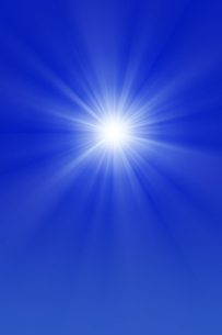 青空と太陽の写真素材 [FYI01193061]