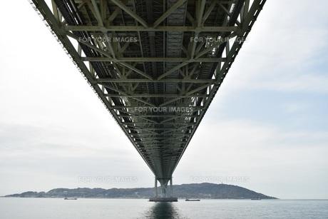 明石海峡大橋の写真素材 [FYI01193498]