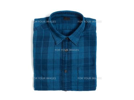 メンズの長袖シャツの写真素材 [FYI01193752]
