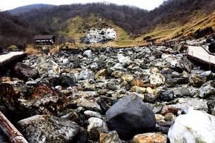 那須の名勝 賽の河原の写真素材 [FYI01193759]