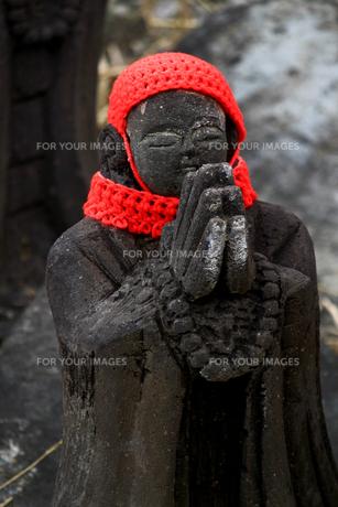 那須の名勝 賽の河原の千体地蔵の写真素材 [FYI01193762]