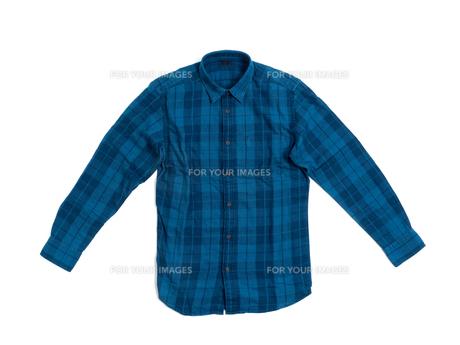 メンズの長袖シャツの写真素材 [FYI01193766]
